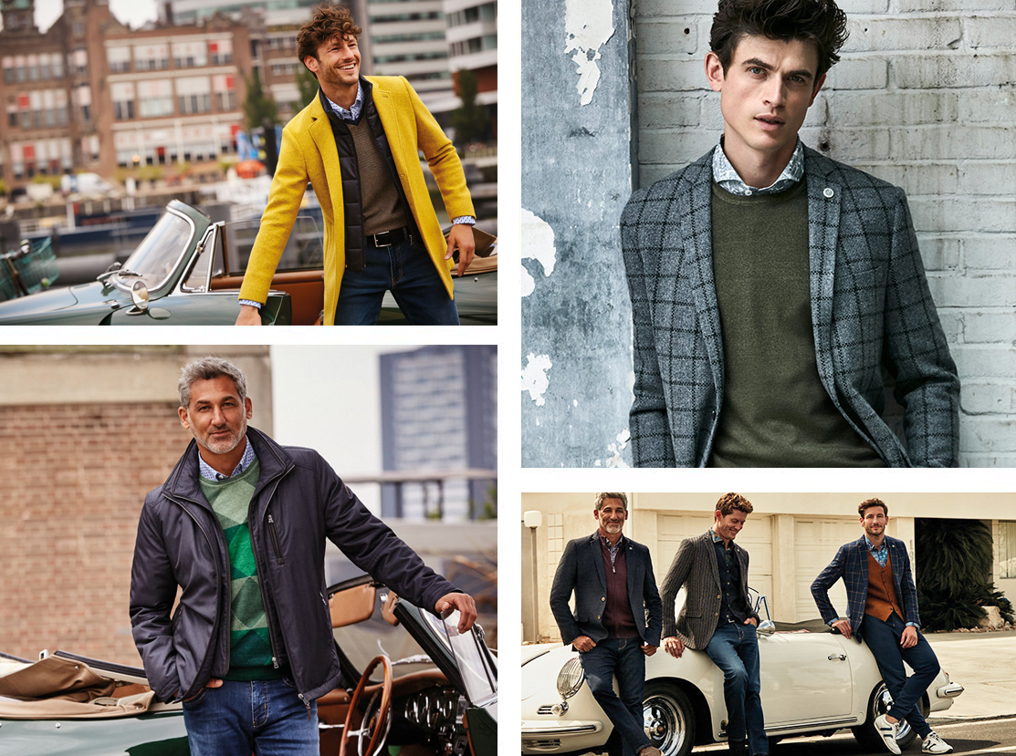 State of Art Menswear collage